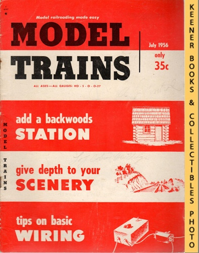 Image for Model Trains Magazine, July 1956 (Vol. 9, No. 5)