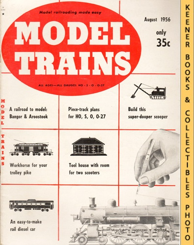 Image for Model Trains Magazine, August 1956 (Vol. 9, No. 6)