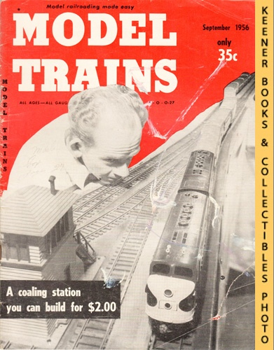 Image for Model Trains Magazine, September 1956 (Vol. 9, No. 7)