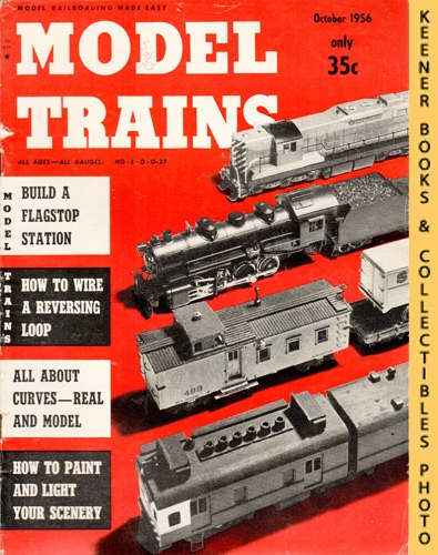 Image for Model Trains Magazine, October 1956 (Vol. 9, No. 8)