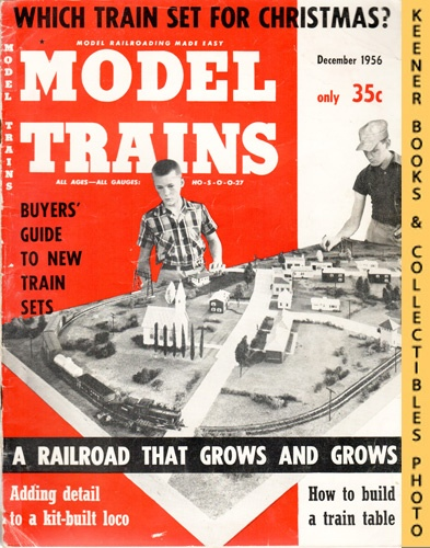 Image for Model Trains Magazine, December 1956 (Vol. 9, No. 10)