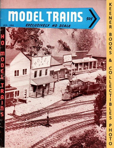 Image for Model Trains Magazine, January 1954 (Vol. 6, No. 9)