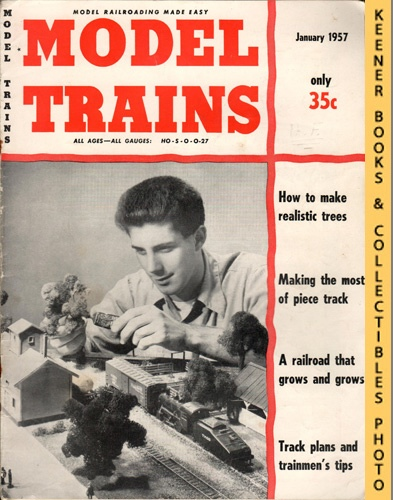 Image for Model Trains Magazine, January 1957 (Vol. 9, No. 11)