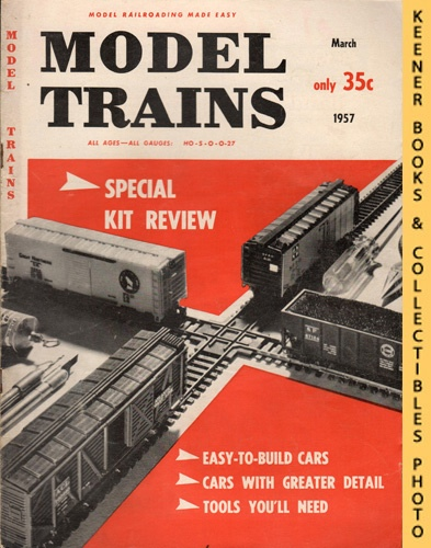 Image for Model Trains Magazine, March 1957 (Vol. 10, No. 1)