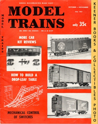 Image for Model Trains Magazine, Fall October - November 1957 (Vol. 10, No. 4)