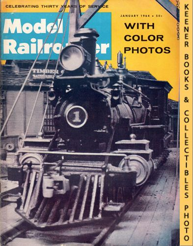 Image for Model Railroader Magazine, January 1964 (Vol. 31, No. 1)
