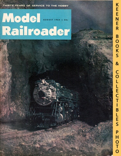Image for Model Railroader Magazine, August 1964 (Vol. 31, No. 8)