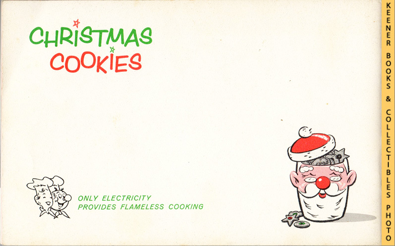 Image for Christmas Cookies - 1961 Book: WE Energies - Wisconsin Electric Christmas Cookie Books Series