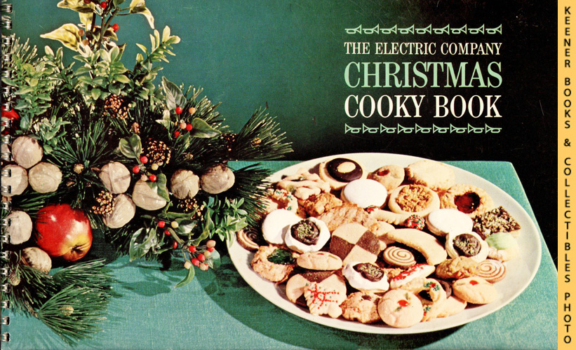 Image for The Electric Company Christmas Cooky Book - 1962 Book: WE Energies - Wisconsin Electric Christmas Cookie Books Series