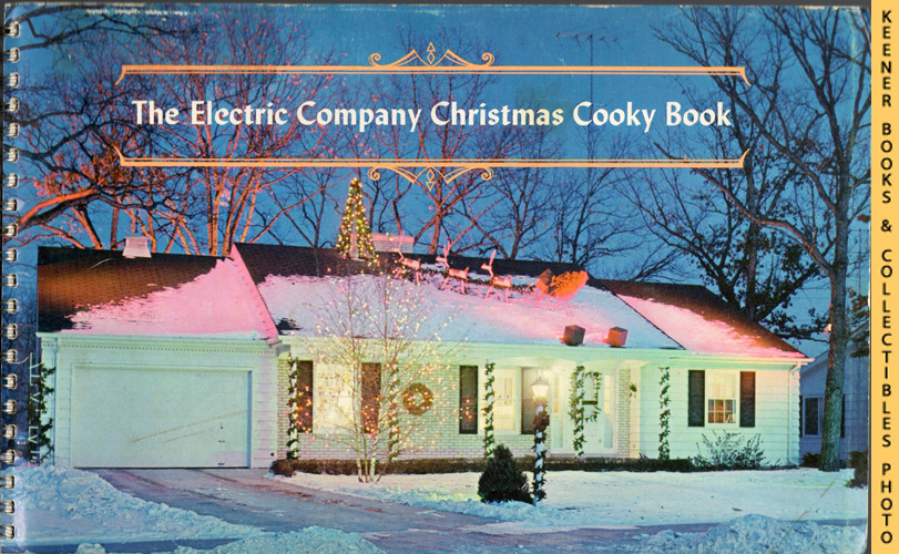 Image for The Electric Company Christmas Cooky Book - 1964 Book: WE Energies - Wisconsin Electric Christmas Cookie Books Series