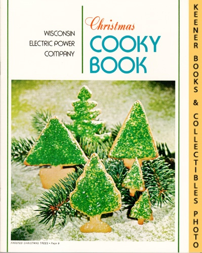 Image for Christmas Cooky Book - 1972 Book: WE Energies - Wisconsin Electric Christmas Cookie Books Series