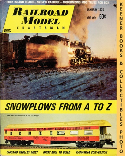 Image for Railroad Model Craftsman Magazine, January 1970 (Vol. 38, No. 8)