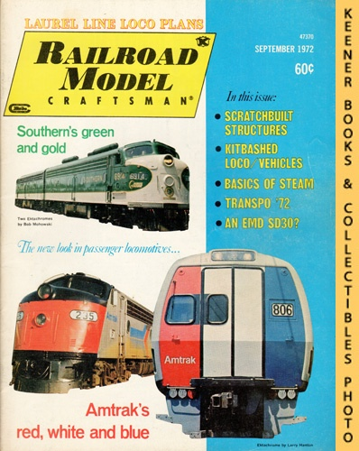 Image for Railroad Model Craftsman Magazine, September 1972 (Vol. 41, No. 4)