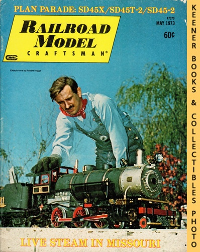 Image for Railroad Model Craftsman Magazine, May 1973 (Vol. 41, No. 12)