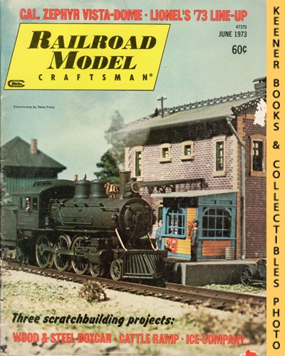 Image for Railroad Model Craftsman Magazine, June 1973 (Vol. 42, No. 1)