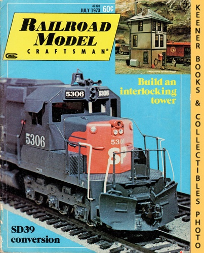 Image for Railroad Model Craftsman Magazine, July 1973 (Vol. 42, No. 2)