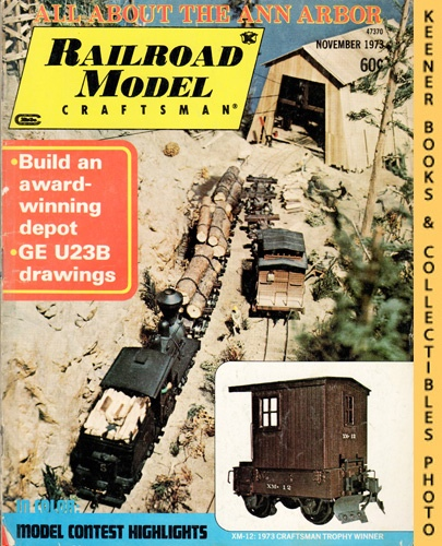Image for Railroad Model Craftsman Magazine, November 1973 (Vol. 42, No. 6)