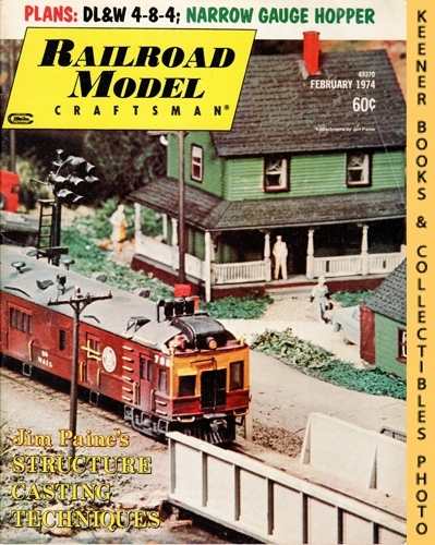 Image for Railroad Model Craftsman Magazine, February 1974 (Vol. 42, No. 9)
