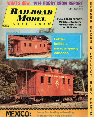 Image for Railroad Model Craftsman Magazine, May 1974 (Vol. 42, No. 12)