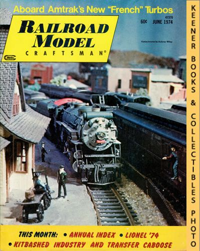Image for Railroad Model Craftsman Magazine, June 1974 (Vol. 43, No. 1)