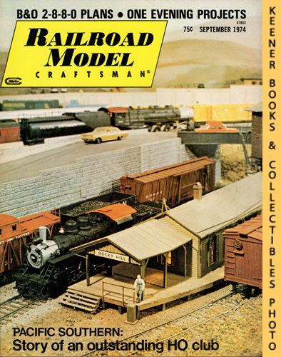 Image for Railroad Model Craftsman Magazine, September 1974 (Vol. 43, No. 4)