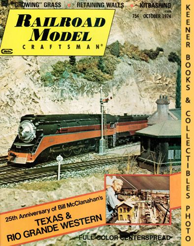 Image for Railroad Model Craftsman Magazine, October 1974 (Vol. 43, No. 5)