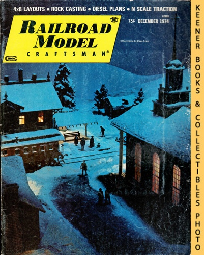 Image for Railroad Model Craftsman Magazine, December 1974 (Vol. 43, No. 7)