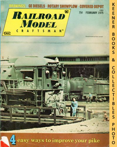Image for Railroad Model Craftsman Magazine, February 1975 (Vol. 43, No. 9)