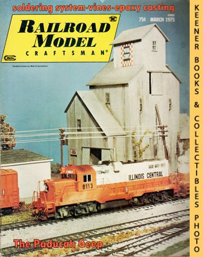 Image for Railroad Model Craftsman Magazine, March 1975 (Vol. 43, No. 10)