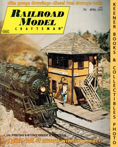 Image for Railroad Model Craftsman Magazine, April 1975 (Vol. 43, No. 11)