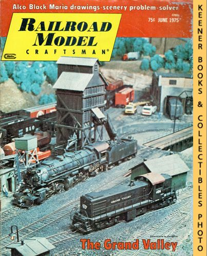 Image for Railroad Model Craftsman Magazine, June 1975 (Vol. 44, No. 1)