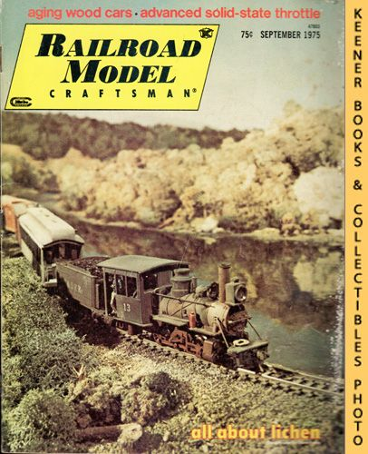 Image for Railroad Model Craftsman Magazine, September 1975 (Vol. 44, No. 4)