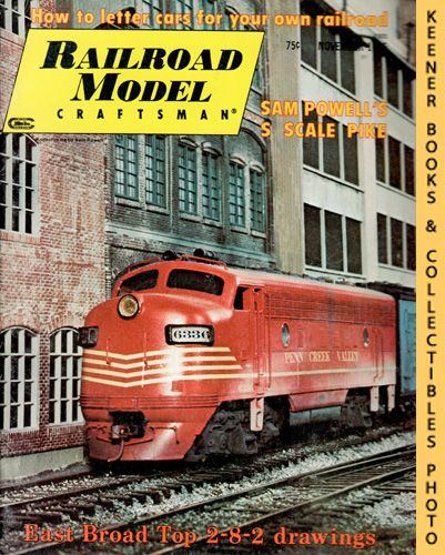 Image for Railroad Model Craftsman Magazine, November 1975 (Vol. 44, No. 6)