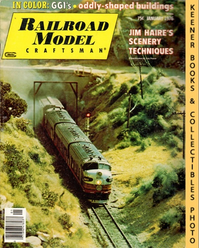 Image for Railroad Model Craftsman Magazine, January 1976 (Vol. 44, No. 8)