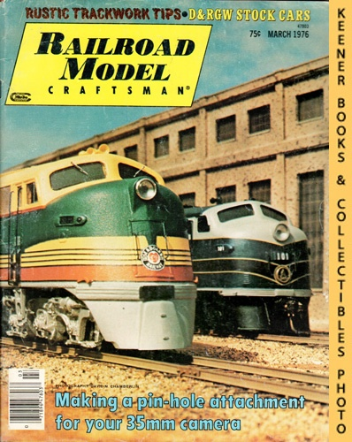 Image for Railroad Model Craftsman Magazine, March 1976 (Vol. 44, No. 10)