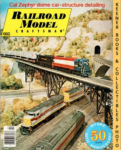 Image for Railroad Model Craftsman Magazine, April 1976 (Vol. 44, No. 11)