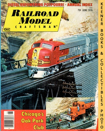 Image for Railroad Model Craftsman Magazine, June 1976 (Vol. 45, No. 1)