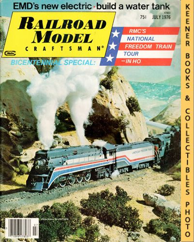 Image for Railroad Model Craftsman Magazine, July 1976 (Vol. 45, No. 2)