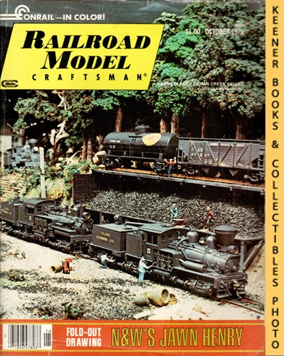 Image for Railroad Model Craftsman Magazine, October 1976 (Vol. 45, No. 5)