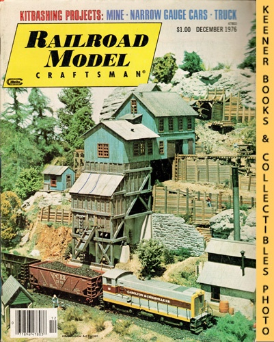 Image for Railroad Model Craftsman Magazine, December 1976 (Vol. 45, No. 7)