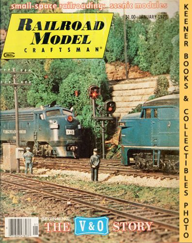 Image for Railroad Model Craftsman Magazine, January 1977 (Vol. 45, No. 8)