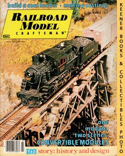 Image for Railroad Model Craftsman Magazine, March 1977 (Vol. 45, No. 10)