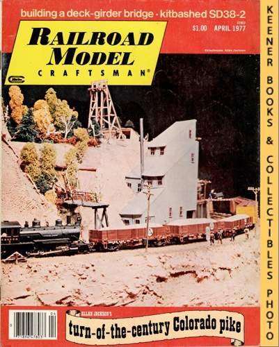 Image for Railroad Model Craftsman Magazine, April 1977 (Vol. 45, No. 11)