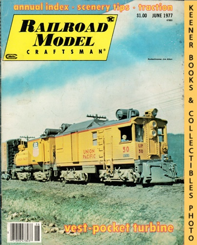 Image for Railroad Model Craftsman Magazine, June 1977 (Vol. 46, No. 1)