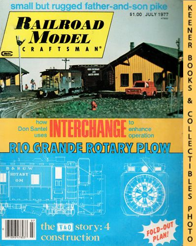Image for Railroad Model Craftsman Magazine, July 1977 (Vol. 46, No. 1)