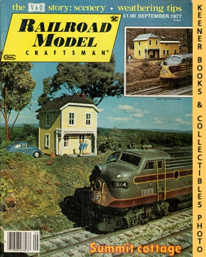 Image for Railroad Model Craftsman Magazine, September 1977 (Vol. 46, No. 4)