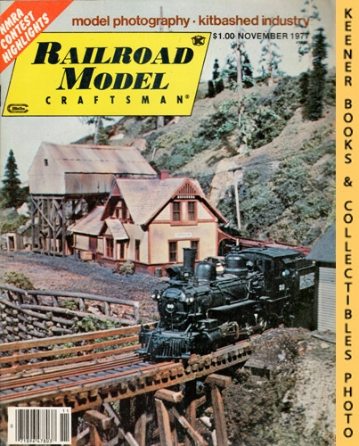 Image for Railroad Model Craftsman Magazine, November 1977 (Vol. 46, No. 6)