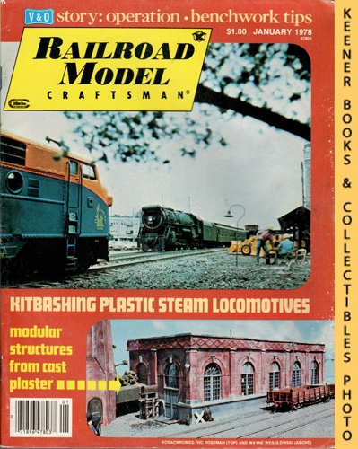 Image for Railroad Model Craftsman Magazine, January 1978 (Vol. 46, No. 8)