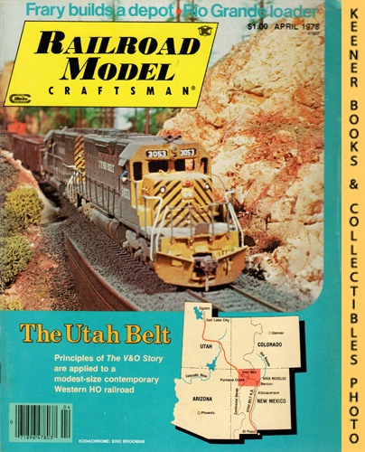 Image for Railroad Model Craftsman Magazine, April 1978 (Vol. 46, No. 11)