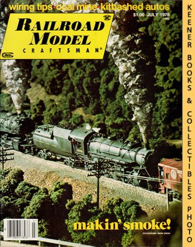 Image for Railroad Model Craftsman Magazine, July 1978 (Vol. 47, No. 2)